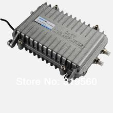 Bi-directional trunk amplifier Seebest Cable TV Signal Amplifier Splitter Booster CATV trunk Amplifier 2 Output 30DB SB-7530MBS