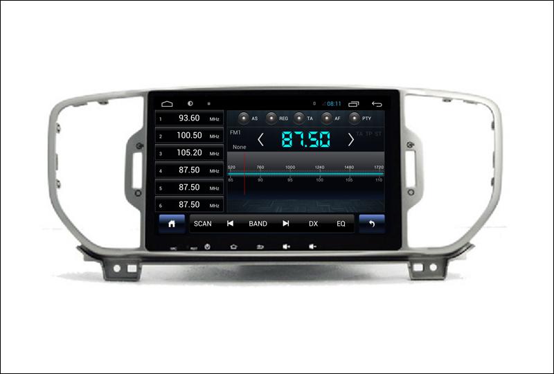For Kia Sportage ( QL ) Kia KX5 2015 2016 - Car Android Media Player System Radio Stereo GPS Navigation Multimedia Audio Video 6