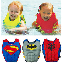 Baby Swim Vest Swimming Accessories Child Trainer Fishing Life Ring Kid Buoyancy Swimsuit Sailing PVC Jacket Pool 2-8Y