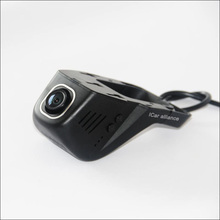 Car front wifi DVR For Fiat Punto Novatek 96655 Driving Video Recorder Dash Cam hidden installation car black box wide angle