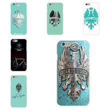 Bianchi Bike Logo Bicycle Team For Apple iPhone 4 4S 5 5C SE 6 6S 7 7S Plus 4.7 5.5 Soft TPU Silicon Case Accessories