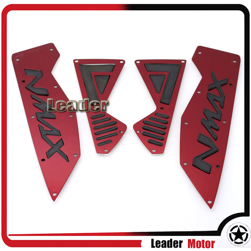 For YAMAHA N-MAX 155 NMAX 155 N MAX155 Motocross Accessories Footrest Peg Rear Motorcycle Footrest Step Pedal Scooter 1 SET<br>