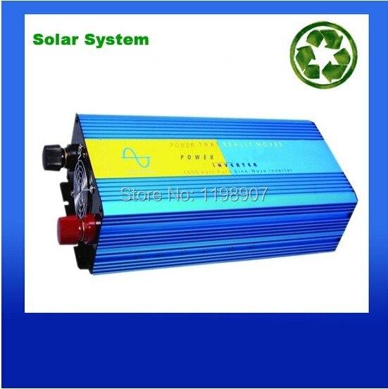 Pure sine wave inverter 1500W 110/220V 24/24VDC, CE certificate, PV Solar Inverter, Power inverter, Car Inverter Converter<br><br>Aliexpress