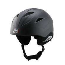 New Design Free shipping white black water Ski Snowboard Skating helmet with removeable ear protector CE approved FOR SALE