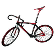 EN Quality, Carbon Road Bike, Carbon Racing Racer Bicycle, Carbon Fiber Road Frame Fork Handlebar Saddle Seatpost Headset Spacer(China)
