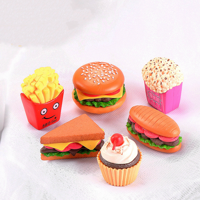 5Pcs Dollhouse Miniature Snacks Candy LolliDoll House Accessories Toys F Lp
