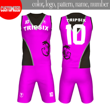 customized design black dragon violet thailand tackle twill blank basketball jersey for printing(China)