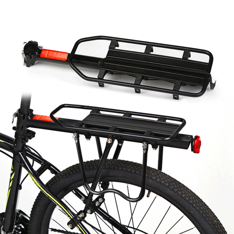 High Quality Brand Bicycle Accessories Mountain Bike Rack Bicycle Rack Luggage Rack Load 50Kg Luggage Cycling for a bike<br><br>Aliexpress