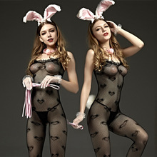 Buy Hot Sexy Bodystockings Sex toys women underwear sleepwear intimates Kimono Sex products crotchless Teddies black Sex nightwear