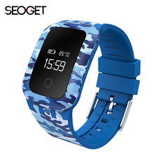 Camouflage Smart watch Heart Rate Monitor Smart bracelet  Fitness Bracelet Smartwatch wristband for android IOS smart band