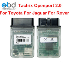 2017 Top Rated Tactrix Openport 2.0 ECU Flash Tool OBDII ECU Chip Tuning Scanner For Toyota For Jaguar For Land Rover Eecflash