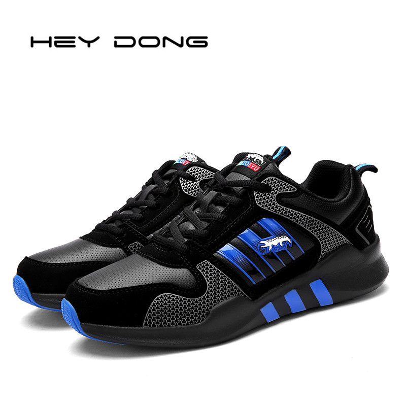 Breathable Men Casual Shoes Waterproof Leather Mens Trainers Flat Walking Shoes Sport Larger Size Zapatillas Hombre Basket Femme<br><br>Aliexpress
