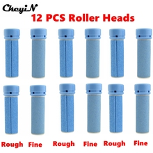 12Pcs Grinding Heads Replacement Roller Grinding Head Foot Pedicure Exfoliating Heel Cuticles Removal Rollers Head Wholesale P00(China)