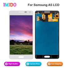 China Supplier Compatible For Samsung Galaxy A5 A500 A500H A500F A500M LCD Display Touch Screen Glass Panel Assembly AAA Quality(China)