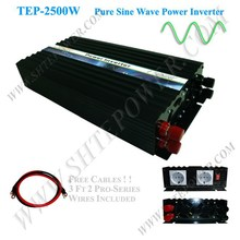 Off Grid 2500w Pure Sine Wave Inverter for Solar or Wind System, Single Phase