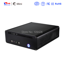 Realan K3 Mini Itx Case Aluminum Computer Case Aluminum PC Chassis(China)