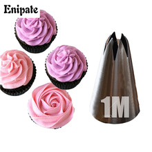 DIY Stainless Steel Drop Rose Nozzles Rose Icing Piping Pastry Decorating Tips Cake Cupcake Decorator Rose Pastry Tool Kitchen