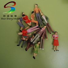 Scale 1/25Railroad People Figure Painted Train Model Figure Model Figure O Scale for Tran Lay(China)