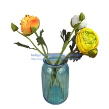 5pcs/Lot New Yellow Onion Rose Short Rose With Bud Table Decoration Artificial Flower Wedding Flower Party Event Free Shipping(China)