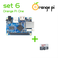 Orange Pi One SET6: Orange Pi One+ 8GB Class 10 Micro SD Card Supported Android, Ubuntu, Debian Above Raspberry