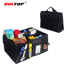 VOLTOP Car Trunk Storage Box Foldable Portable Auto Collapsible Bags Stowing Tidying Organizer Tool Pocket Truck Cargo Container(China)
