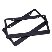 XC - TP 091 USA License Plate Frame Aluminium Alloy Durable for Car Truck RV Mini-van etc Prevent Plate Number from Losing