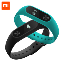 Xiaomi Mi Band 2 MiBand 2 Wristband Bracelet Smart Heart Rate Monitor Fitness Tracker with Touchpad OLED Screen for Android iOS(China)