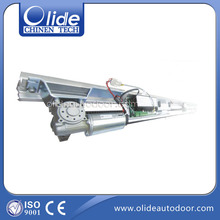 Aluminum automatic sliding door system,automatic sliding opening system with transmission rail and cover