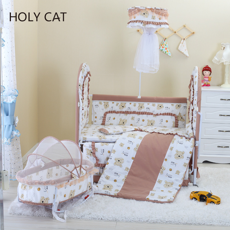 Holycat Nne Baby Carrier Korean Fabric Environmental Protection Bed Children Bb Lengthened Dc 9001 In Cribs From Mother Kids On