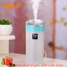 Ultrasonic Humidifier Car Aroma Diffuser 300ML USB 5V 2W 4Colors Ultrasonic Mist Make Oil Diffuser Aromatherapy For Car purifier
