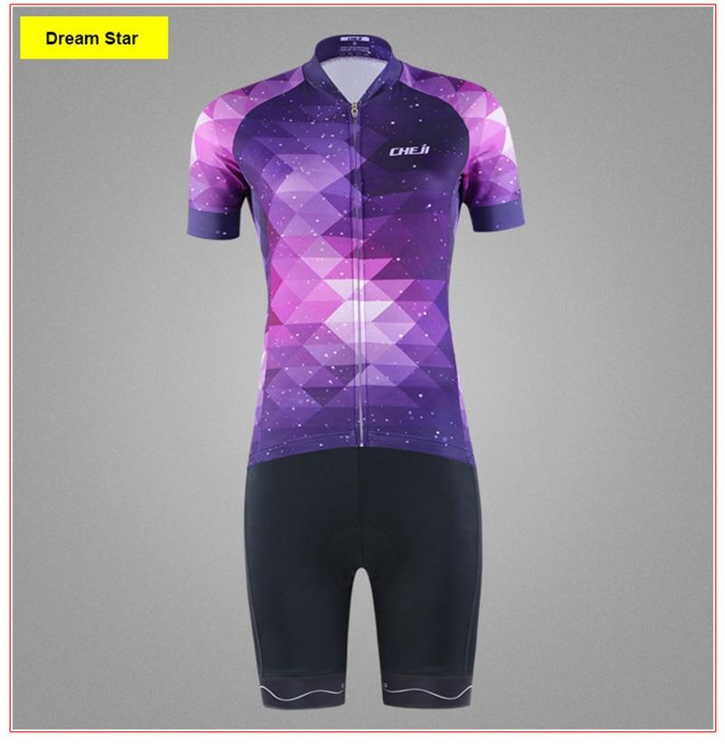 Women/'s Cycling Jersey Clothing Bicycle Sportswear Short Sleeve Bike Shirt  D23