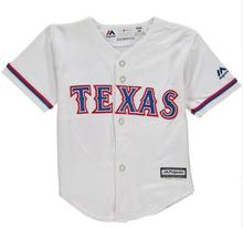 MLB Newborn / Infant Texas Rangers White Home Cool Base Jersey(China)