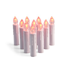 Color Changeable Led Candle Lights for Christmas Tree Flameless Candles with Multi-color Remote Control for Xmas Tree Ornaments