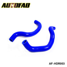 AUTOFAB - Radiator hose kit for Honda Accdrd CL7 Euro-R K20A CF4/F20B 98-03 (2pcs) AF-HDR003