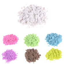 500g/bag New Dynamic Sand Polymer Clay Amazing Diy Plasticin Magic Play Do Dry Sands Mars Space Sand Sfimo Polymer Clay For kids(China)