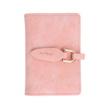 Fashion Women Lady Business PU Leather Leaf Hasp Card Holder Credit Card Holders Convenient Mini Trunk Solid Card Holder Formal(China)