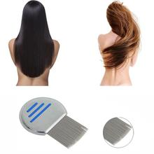 New fashion high quality Terminator Lice Comb Hair Rid Headlice stainless steel Metal Teeth Rounded end protects the scalp Anne(China)