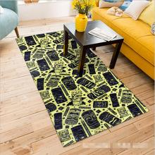 Long Strip Mat European Trend Corridor Carpet Floor Mats and Carpets Modern Anti-skid Carpets For Kitchen Room Bedroom Alfombras(China)