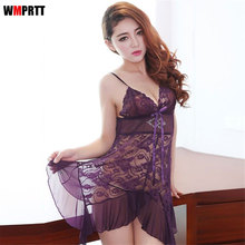 HOT Sexy Ladies Pajama Shorts Set sexy costumes Woman's underwear lingerie sexy hot Pyjamas for women Intimate goods sex(China)