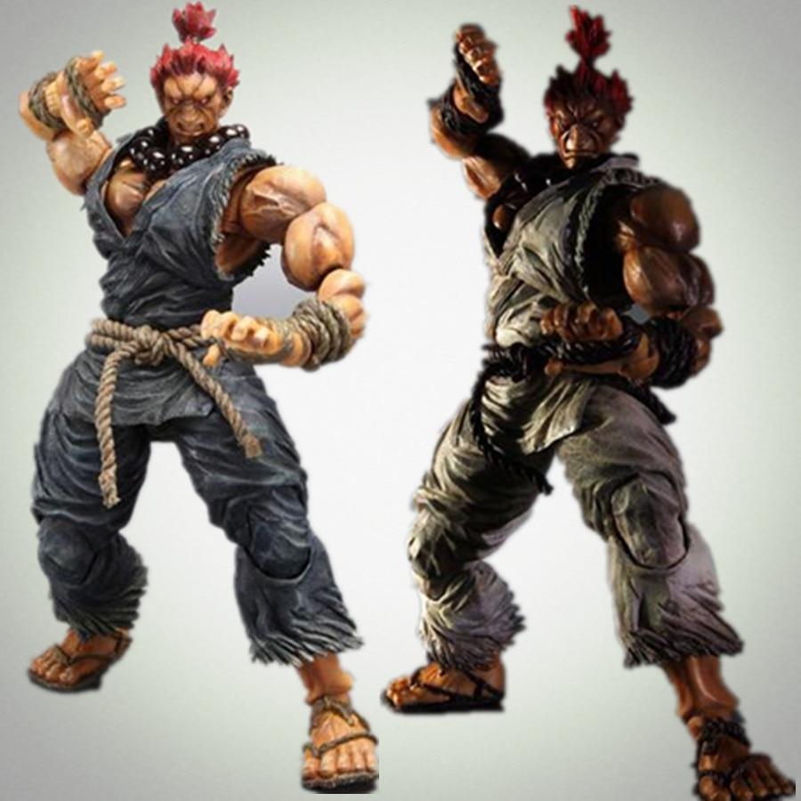 Street Fighter Play Arts Kai Gouki Akuma 230MM Anime Street Fighter Action Figure Toy Playarts Kai<br>
