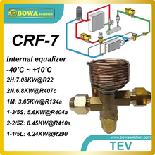 CRF-7 R410A 7200Kcal cooling capacity expansion valve with SAE flare connection designed for  marine air conditioner