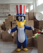 Hot Sale Duck Mascot Costume Party Cartoon Costumes Fancy Animal Character Mascot Dress Amusement Park Outfit