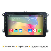Android 6.0 Eight Core Car DVD for Volkswagen Passat B5 B6 B7 POLO GOLF5 6 Tiguan VW DVD Player GPS Radio Navigation Headunit