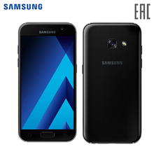 Smartphone Samsung Galaxy A7 (2017) 32GB LTE  mobile phone DUAL SM-A720F/DS Black