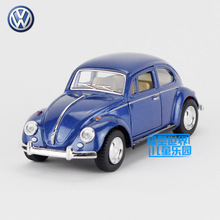 Free Shipping/KiNSMART Toy/Diecast Model/1:32 Scale/1967 Volkswagen Classical Beetle/Pull Back Car/Collection/Gift For Children