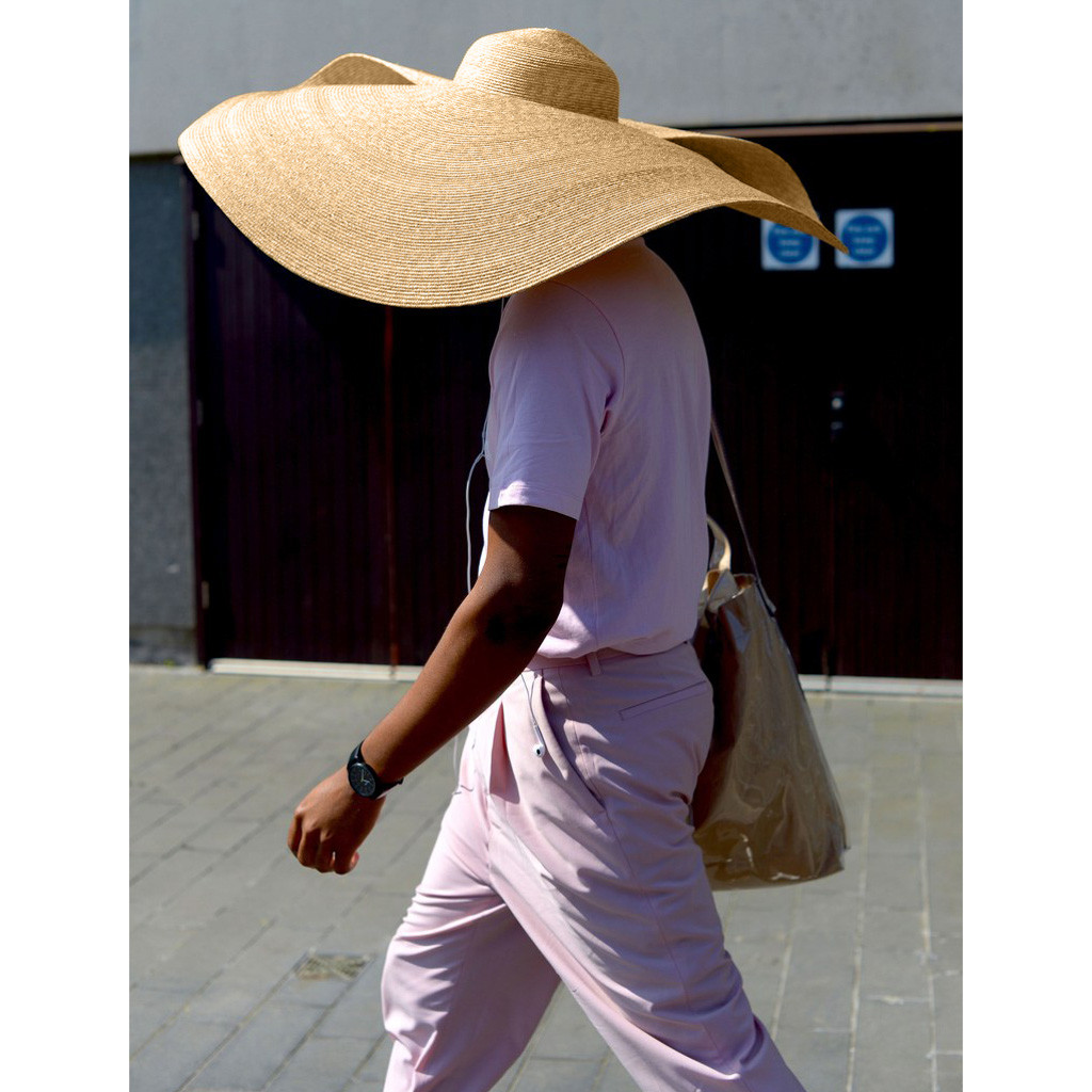 Cover Visor-Hat Straw-Cap Sun-Protection Huge Anti-Uv Foldable Large Beach Fashion D90624 title=