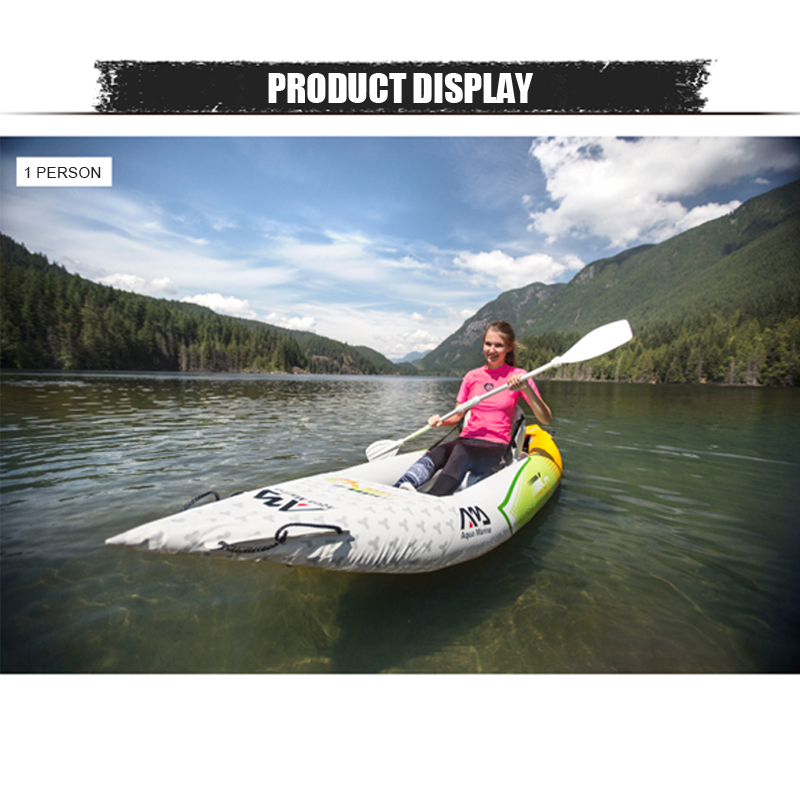 White Kayak boat for 1 or 2 person