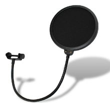 High quality Professional double layer microphone pop filter net cantilever mount general bop cover