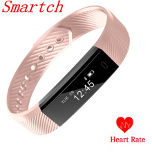 Buy Smartch Smart Band ID115 HR Bluetooth Wristband Heart Rate Monitor Fitness Tracker Pedometer Bracelet Phone pk FitBits mi 2 for $10.99 in AliExpress store