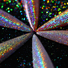 BORN PRETTY Holographic Laser Glitter Powder Rainbow Holo Nail Art Pigment Dust Super Shine Hologram Glitters Nailart Manicure